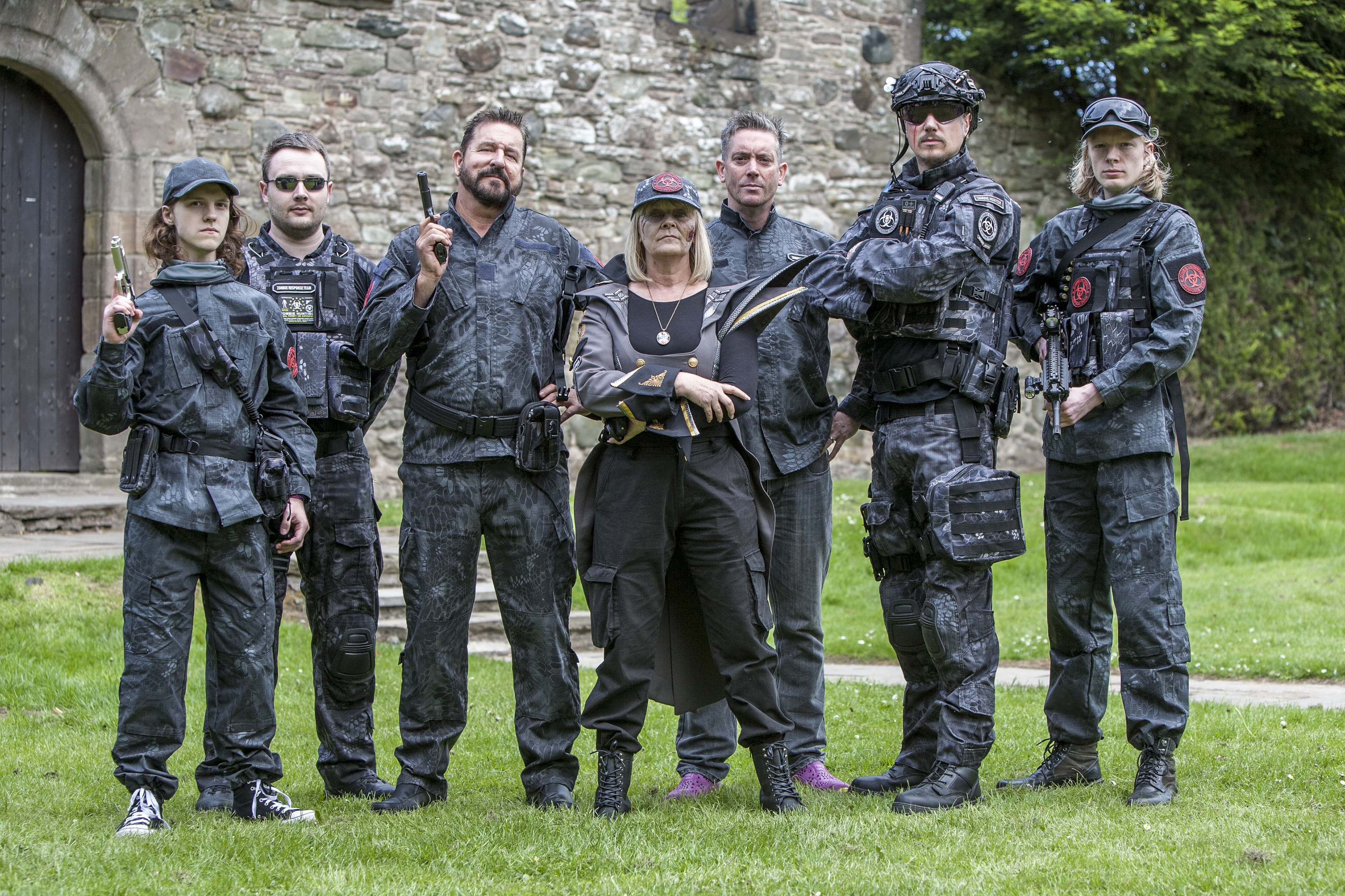 The Zombie Outreach Response Team from last year's event.