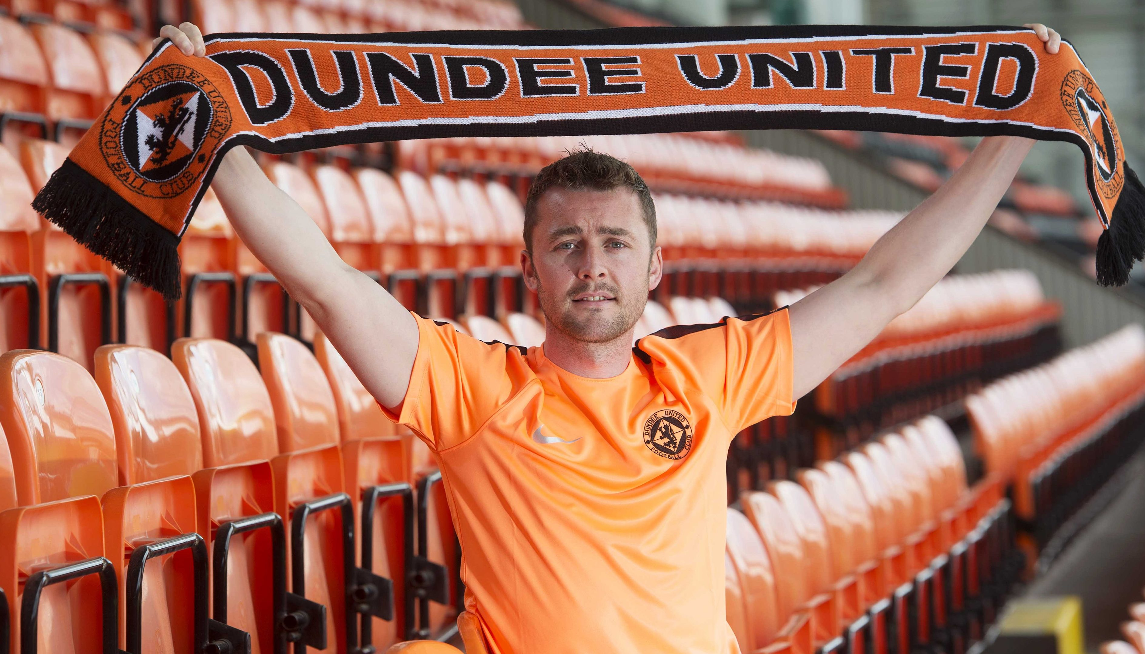 Tam Scobbie is one of Dundee United's new players.