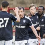 Dundee forward Craig Wighton waiting on knee scan results