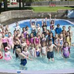 Brechin's paddling pool reopens after three-year mission