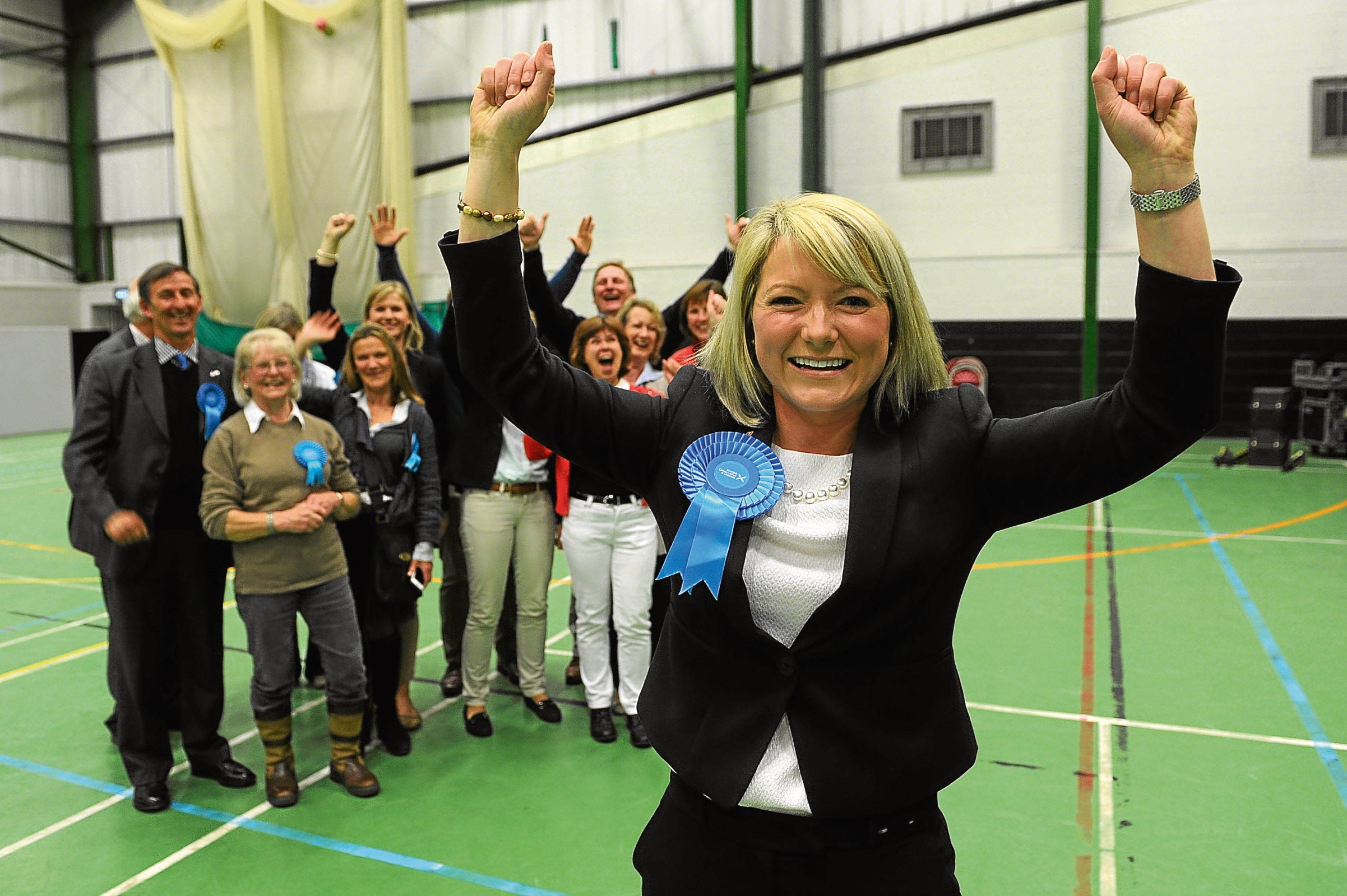 Kirstene Hair, the new Tory MP for Angus, who unseated Mike Weir of the SNP in the June 8 election.