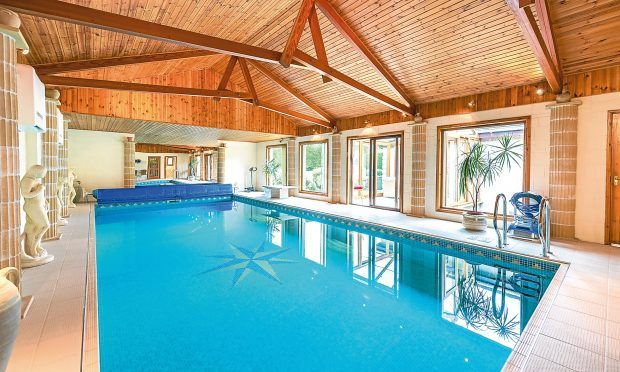 take a dip this broughty ferry manse comes with its own swimming pool the courier