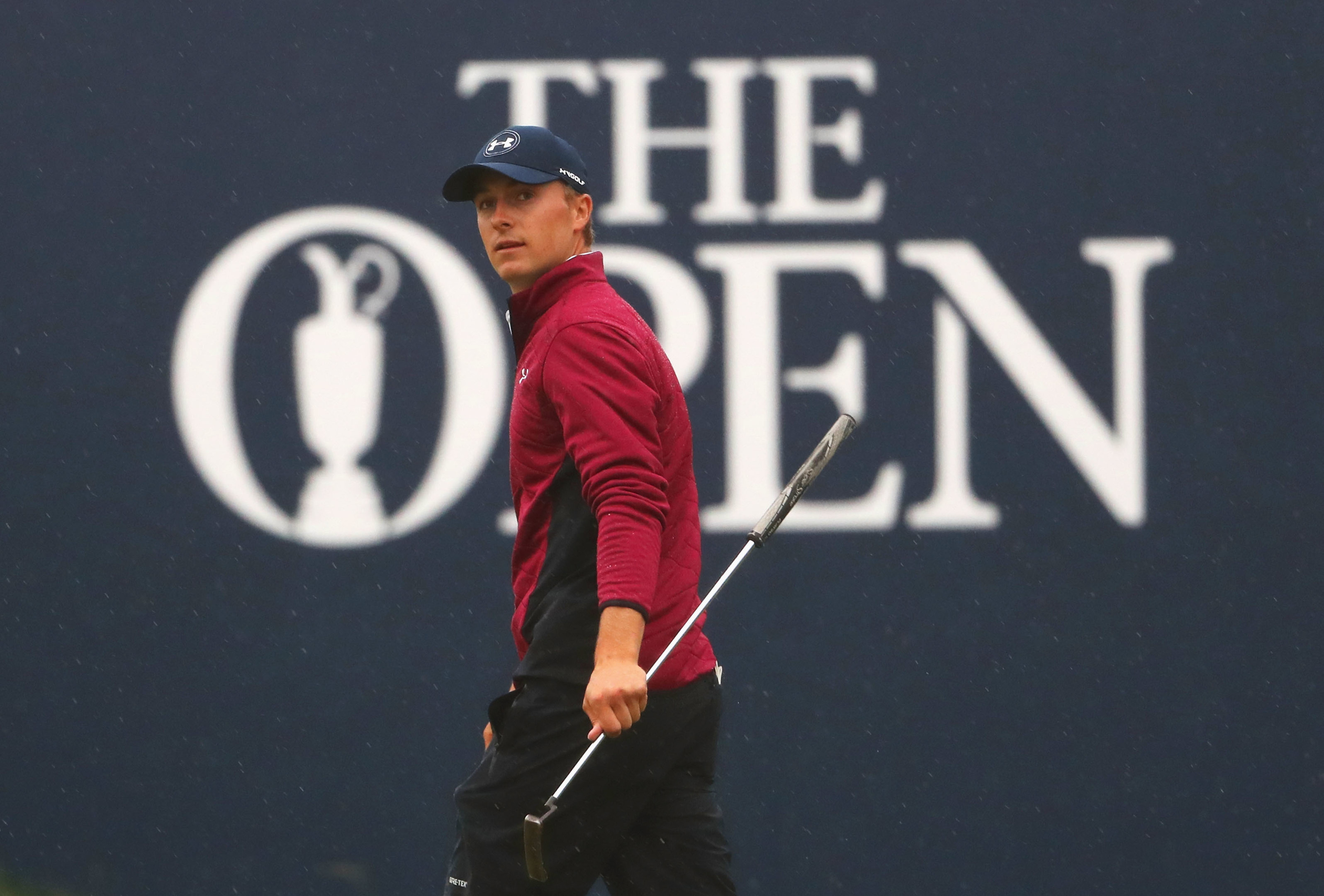 Jordan Spieth will defend his Open title at Carnoustie in July.