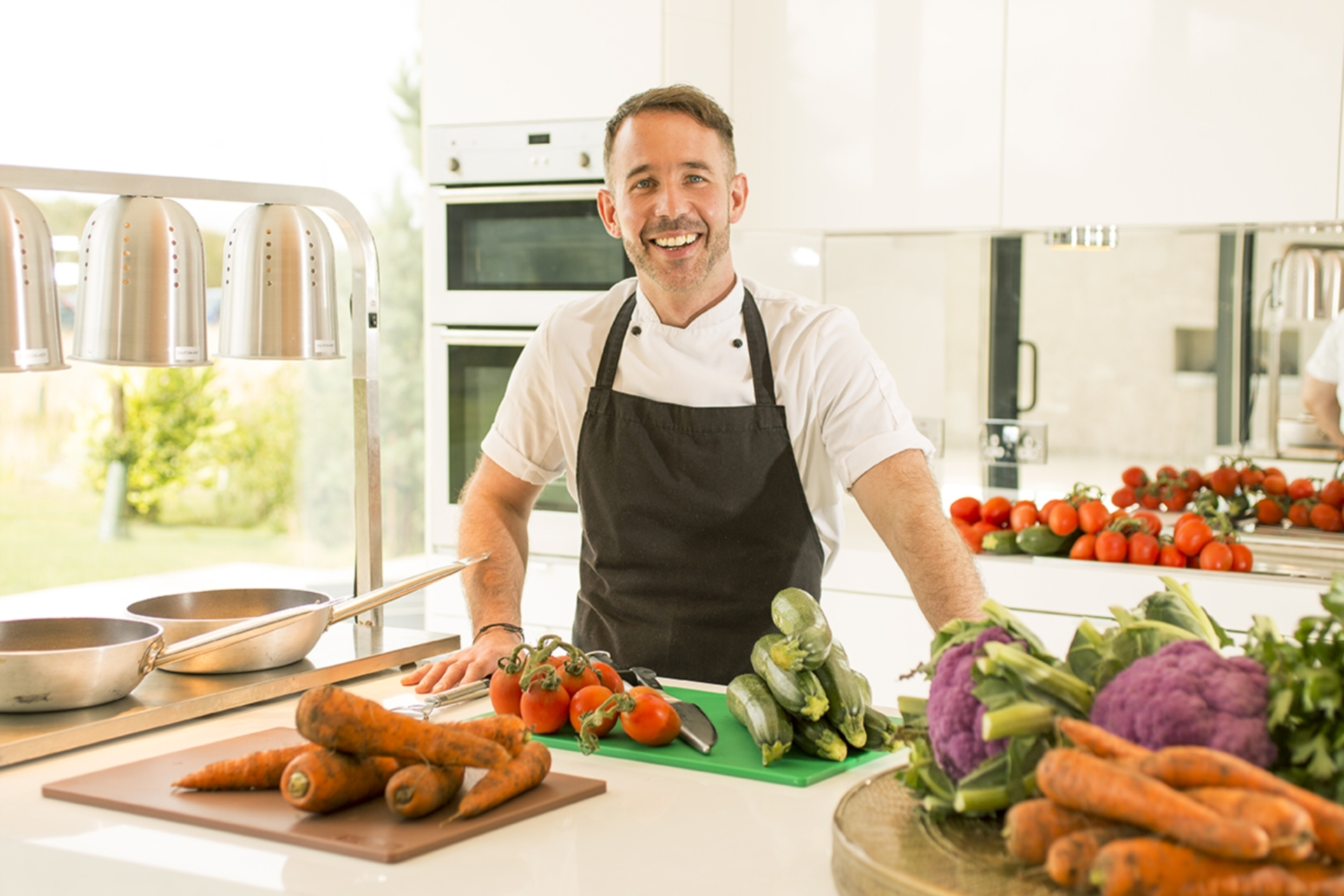 Barry Bryson is one of Scotland's top private chefs.