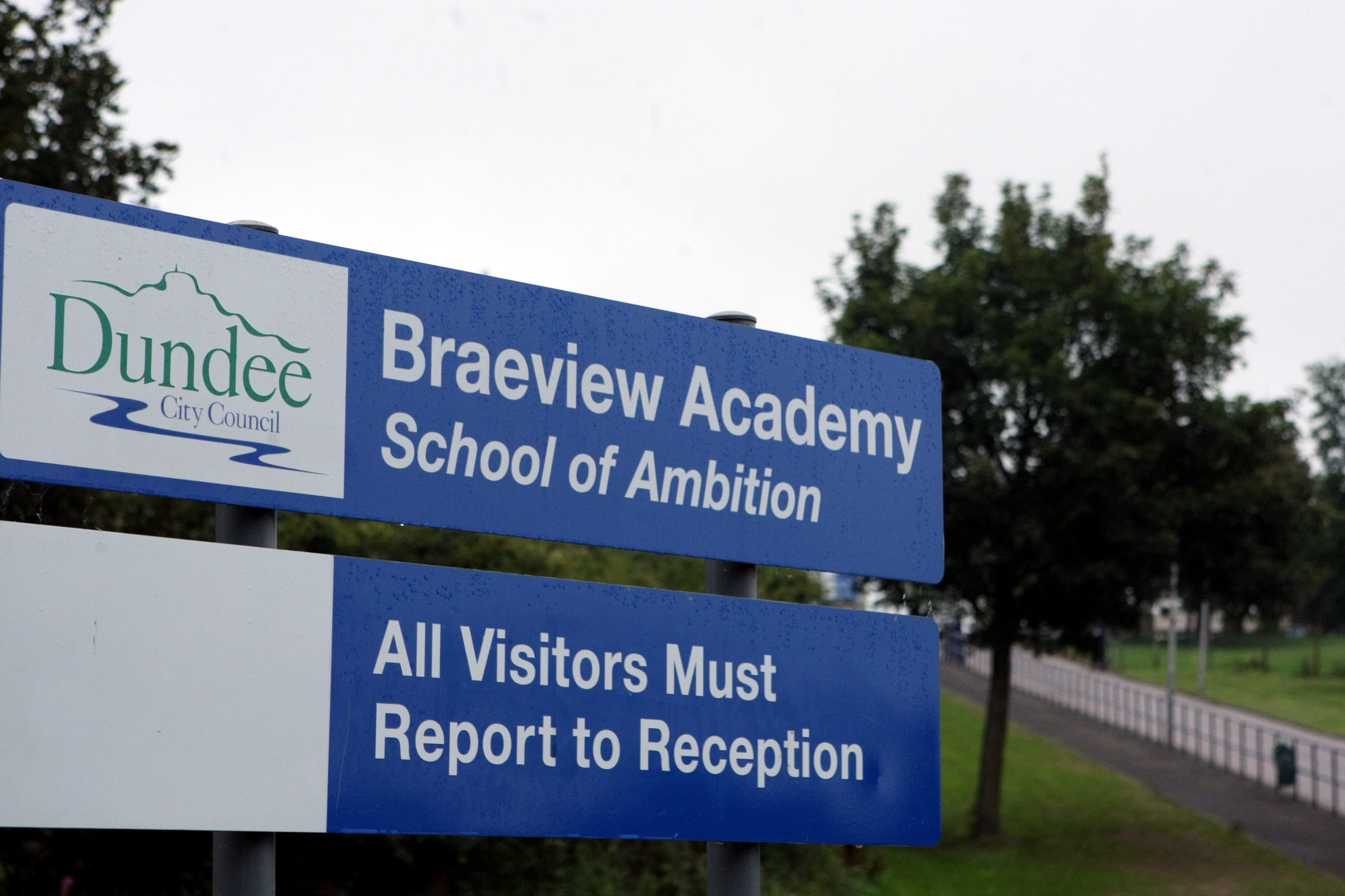 Fears have been expressed over the future of Braeview Academy (pictured), as well as Craigie High School.