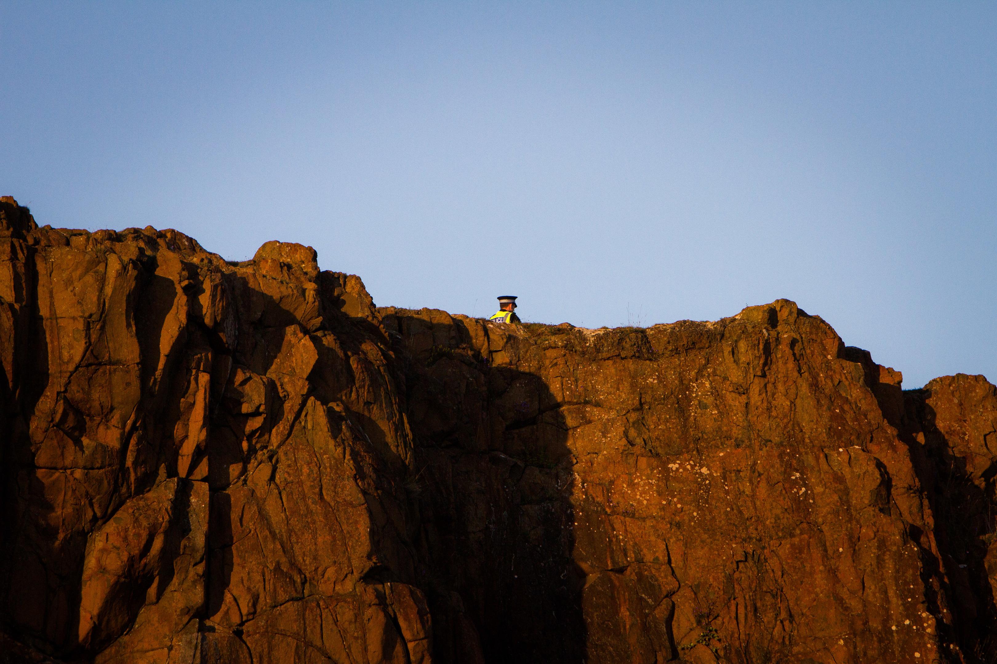 Aberdour cliffs (library photo)