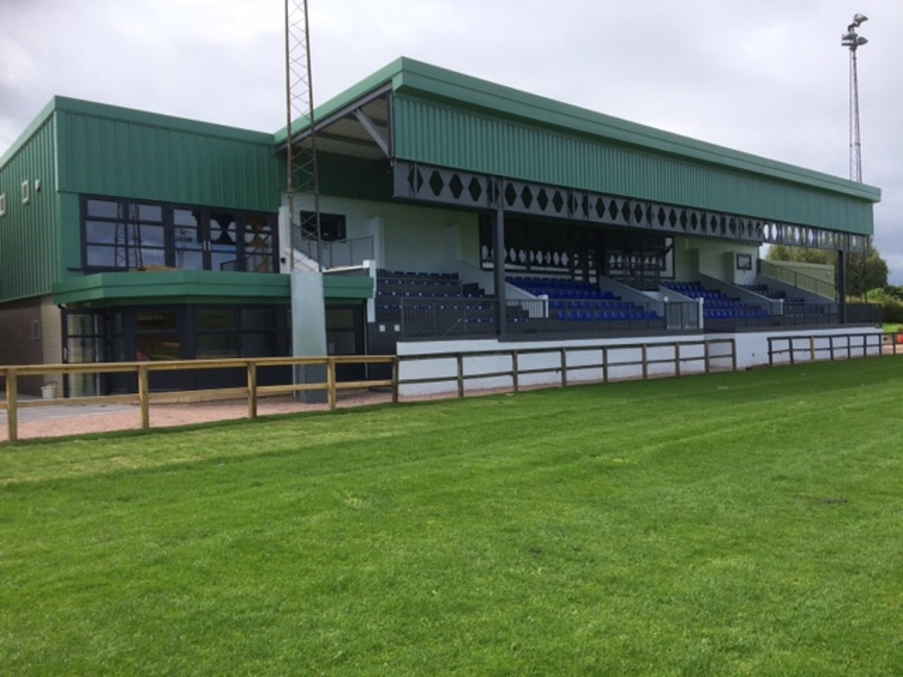 Howe of Fife Rugby Club's Duffus Park pavilion.