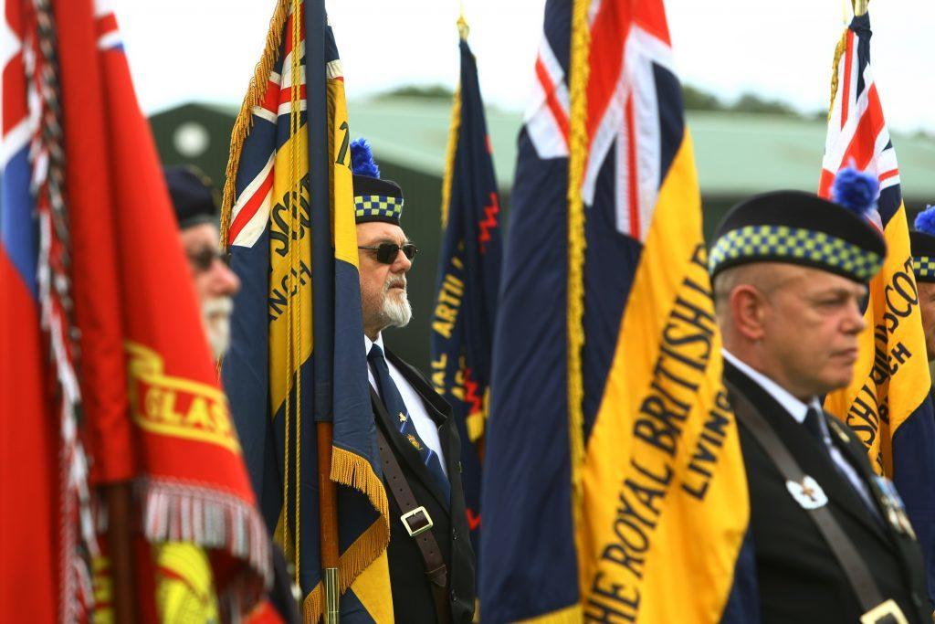 Courier News - Jamie Buchan story - 100th Anniversary of Passchendaele parade Crieff.