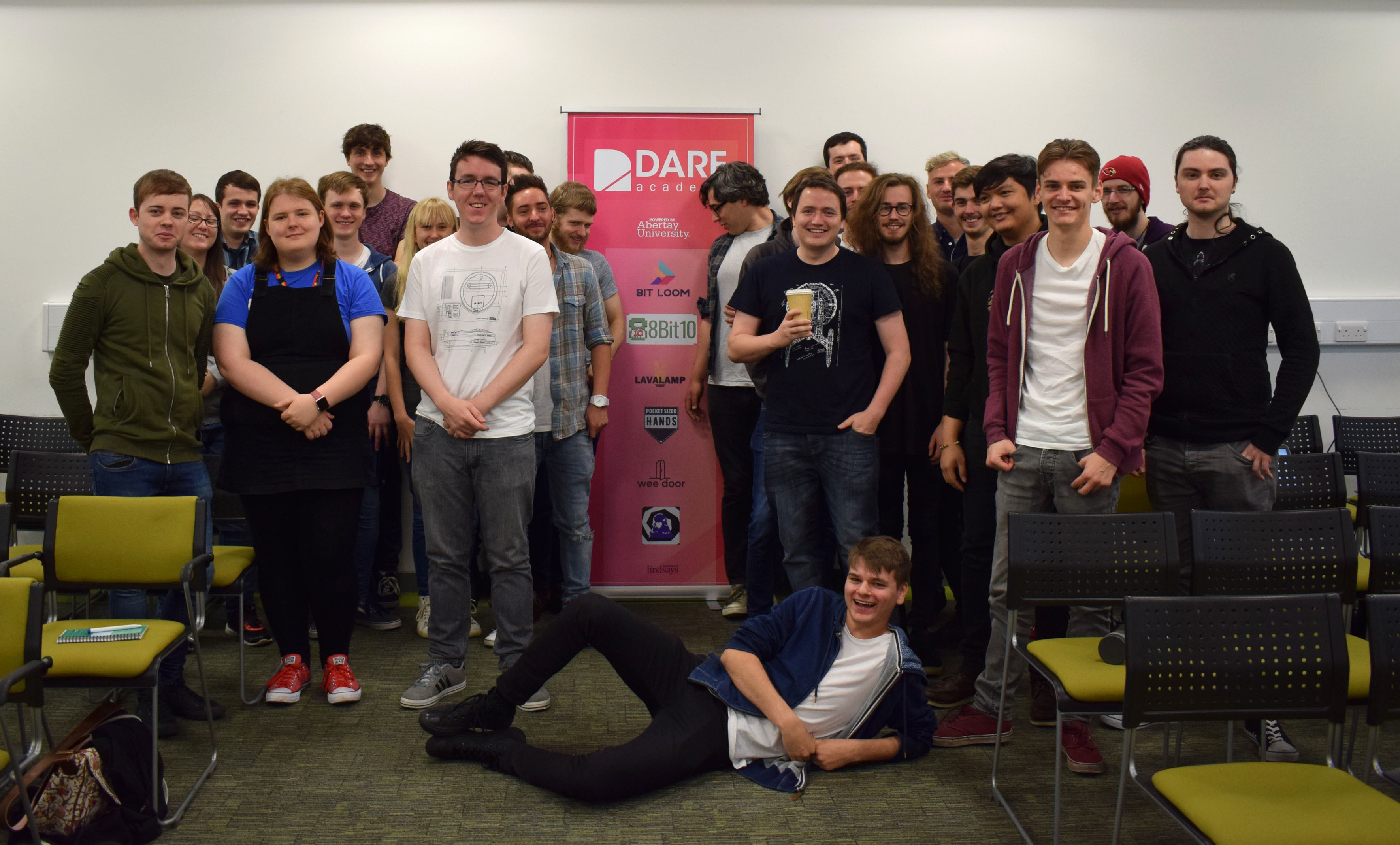 The Dare Academy competitors.