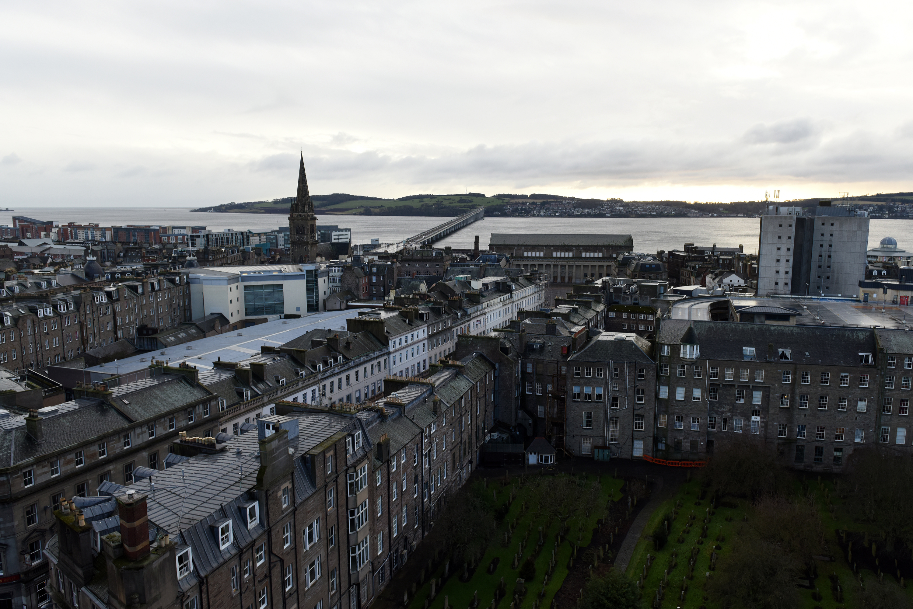 Dundee was ranked the fourth most stressed city in the UK.