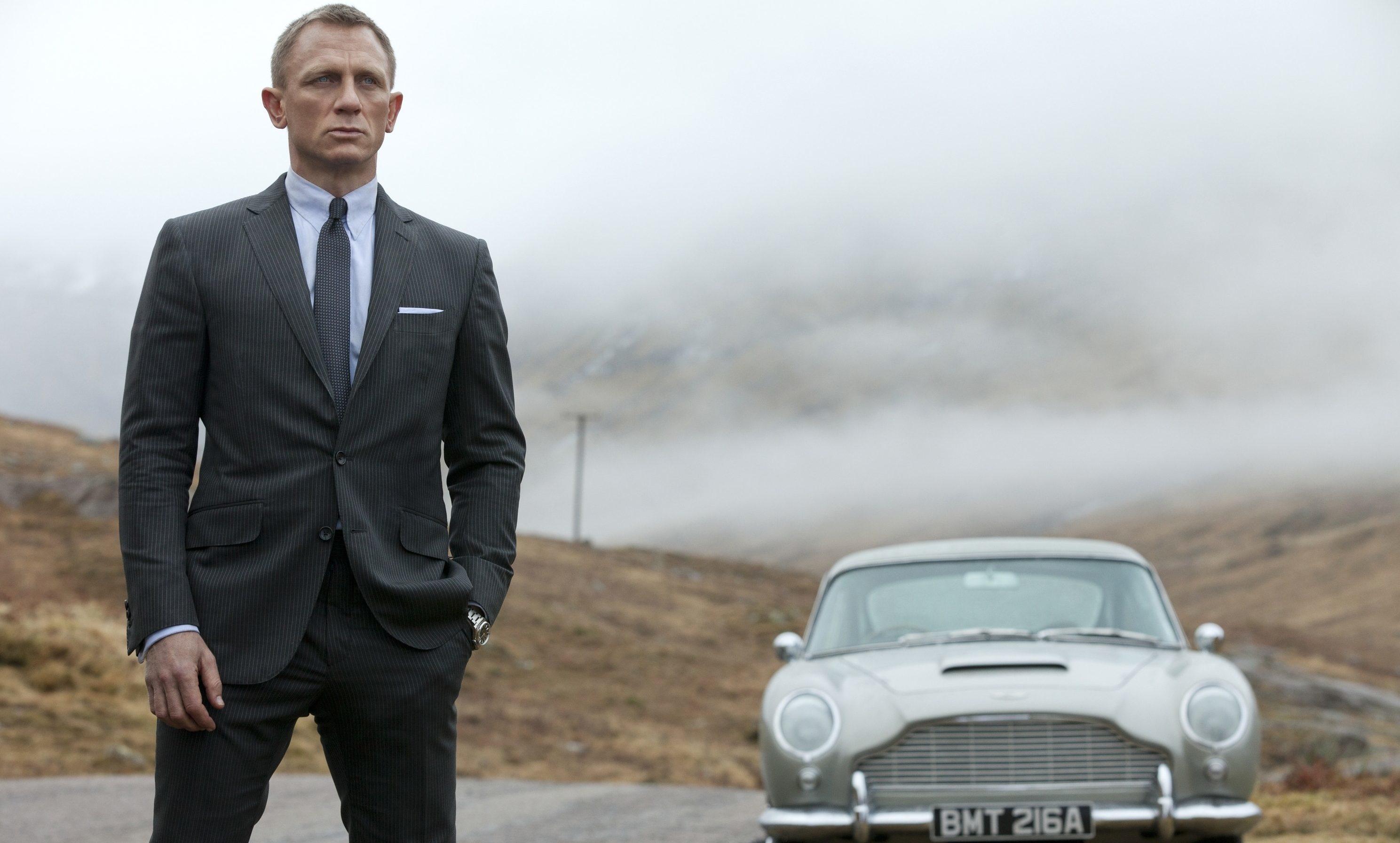 Daniel Craig, pictured as James Bond in Skyfall.