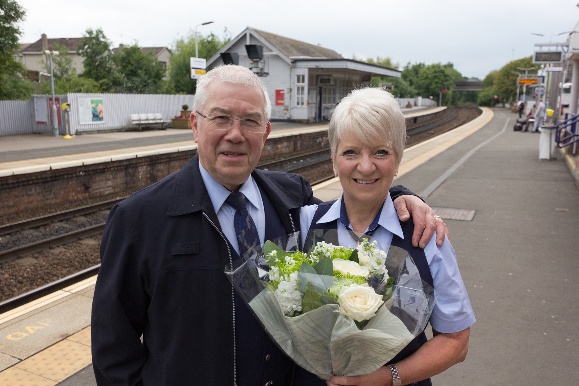John and Linda Mullen's golden wedding celebrations are well on track.