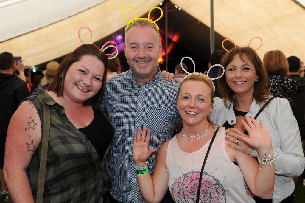 Leanne Mowbray, Stewart Kelly, Dawn Stewart and Lynne Kelly