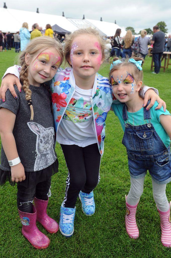 Niamh Cruickshanks, Katie Drumm and Billie Stark