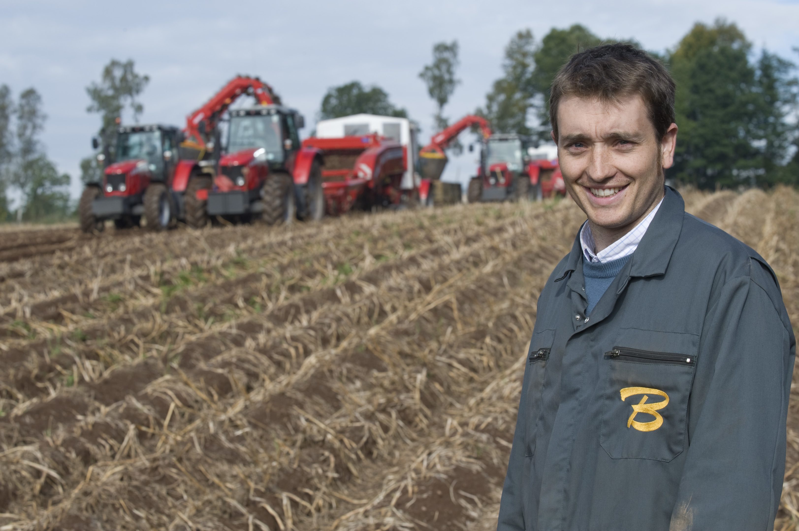 Bruce Farms is the venue for a series of commercial-scale field trials