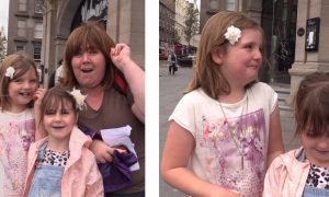 VIDEO: Priceless moment Tayside mum surprised two daughters with tickets to see Olly Murs