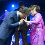 PICTURES: Susan Boyle delights crowds as thousands attend Glamis Prom