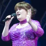 Susan Boyle makes a triumphant return to Glamis Prom