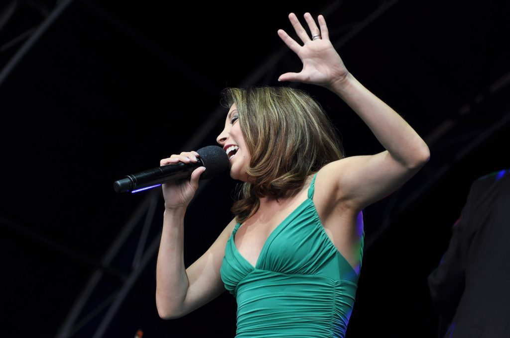 Christina Bianco at the Glamis Proms.