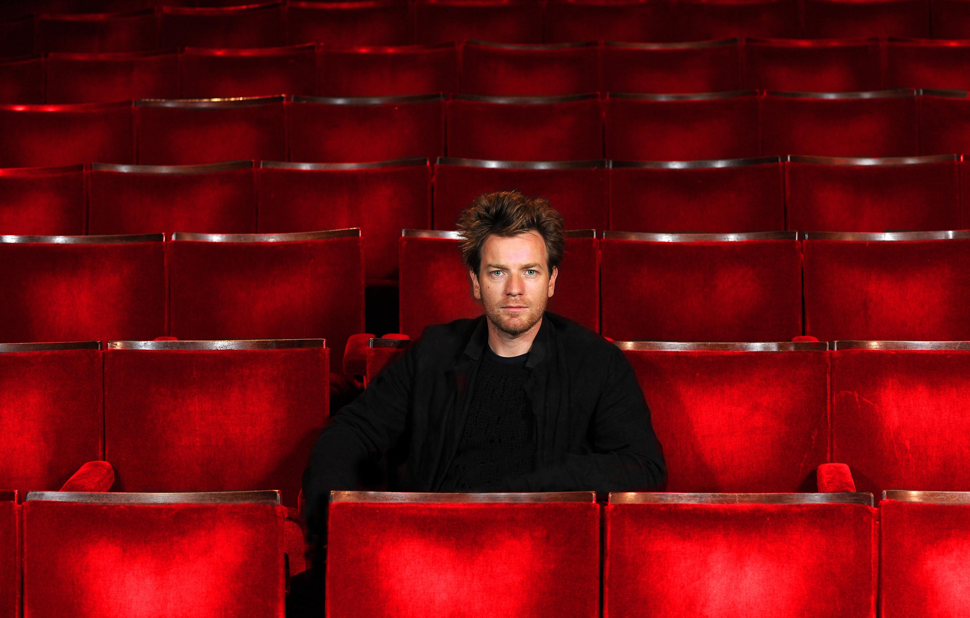 Ewan McGregor at Perth Theatre.