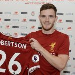 Former Dundee Utd man Andy Robertson signs for Liverpool FC