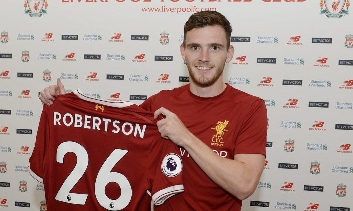Andy Robertson joins Liverpool FC.