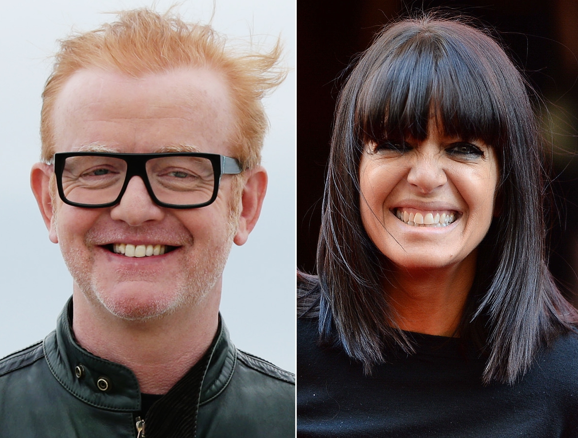 Chris Evans and Claudia Winkleman are the BBC's top male and female earners.