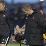 Big blow for Dundee United after it's confirmed James Keatings has suffered ankle ligament injury