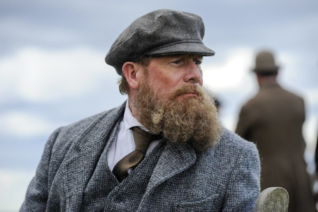 Peter Mullan plays Old Tom in Tommys Honour