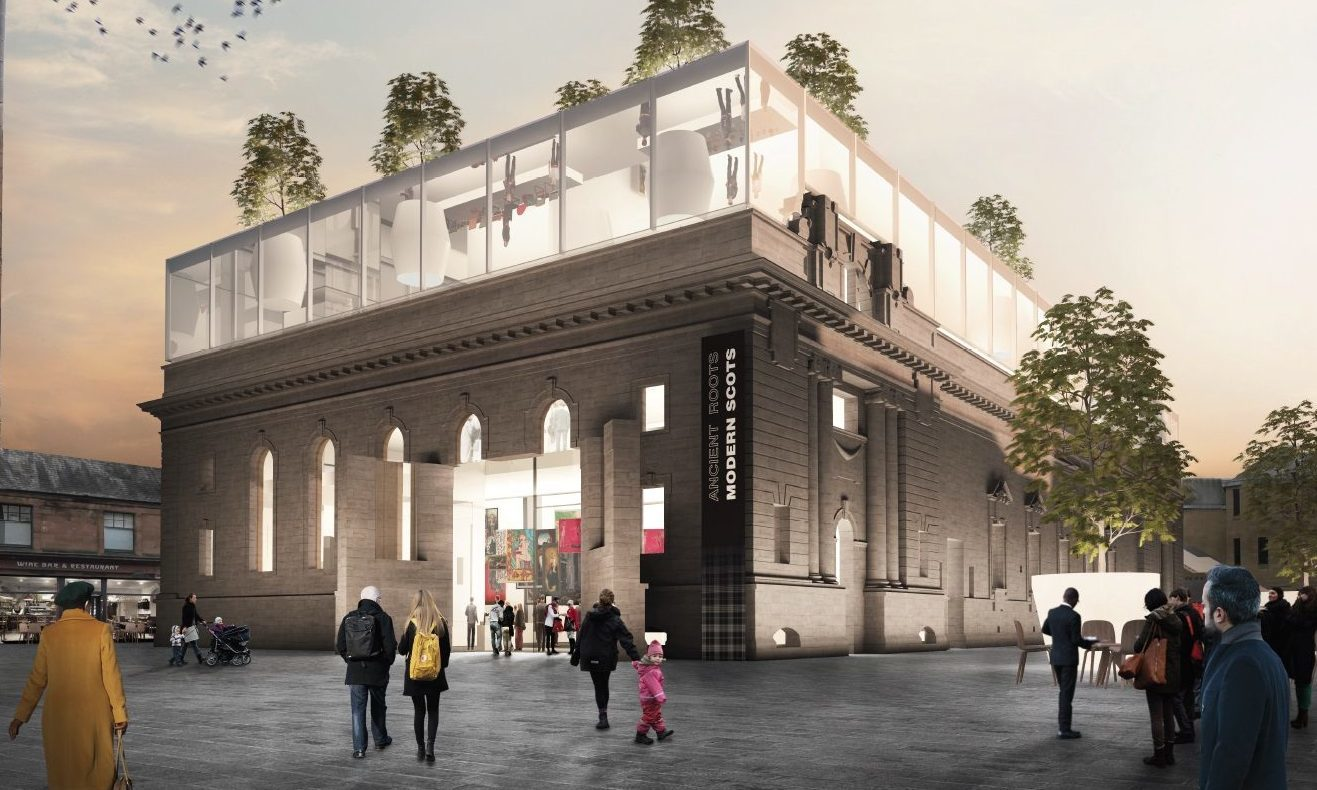 One of the proposed designs for Perth City Hall.