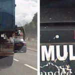 VIDEO: Dashcam shows moment large Dundee City Council lorry slammed into woman's car