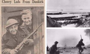 """An immortal story of courage, sacrifice, endurance and faith"": Here's how The Courier covered the Battle of Dunkirk"