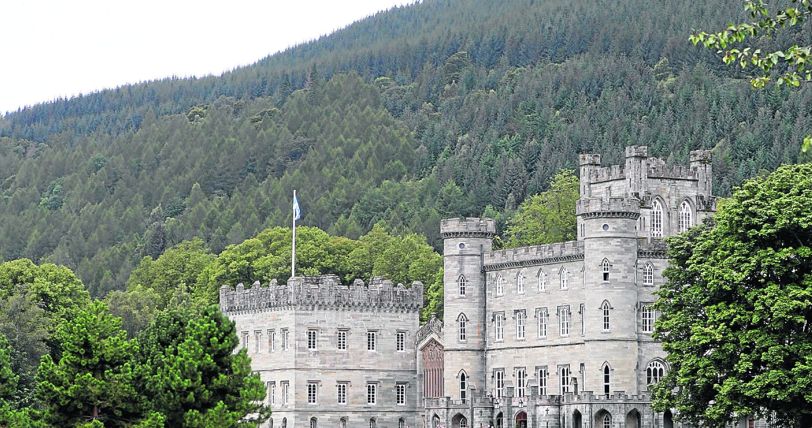 Taymouth Castle, Kenmore.