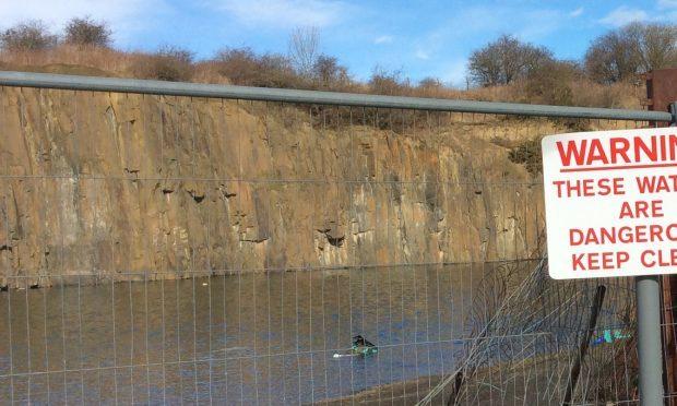 Quarry diving victim named as Edinburgh drama teacher