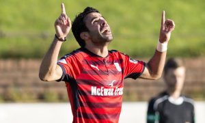Cowdenbeath 0 Dundee 3: Dark Blues get derby boost as Sofien Moussa bags hat-trick