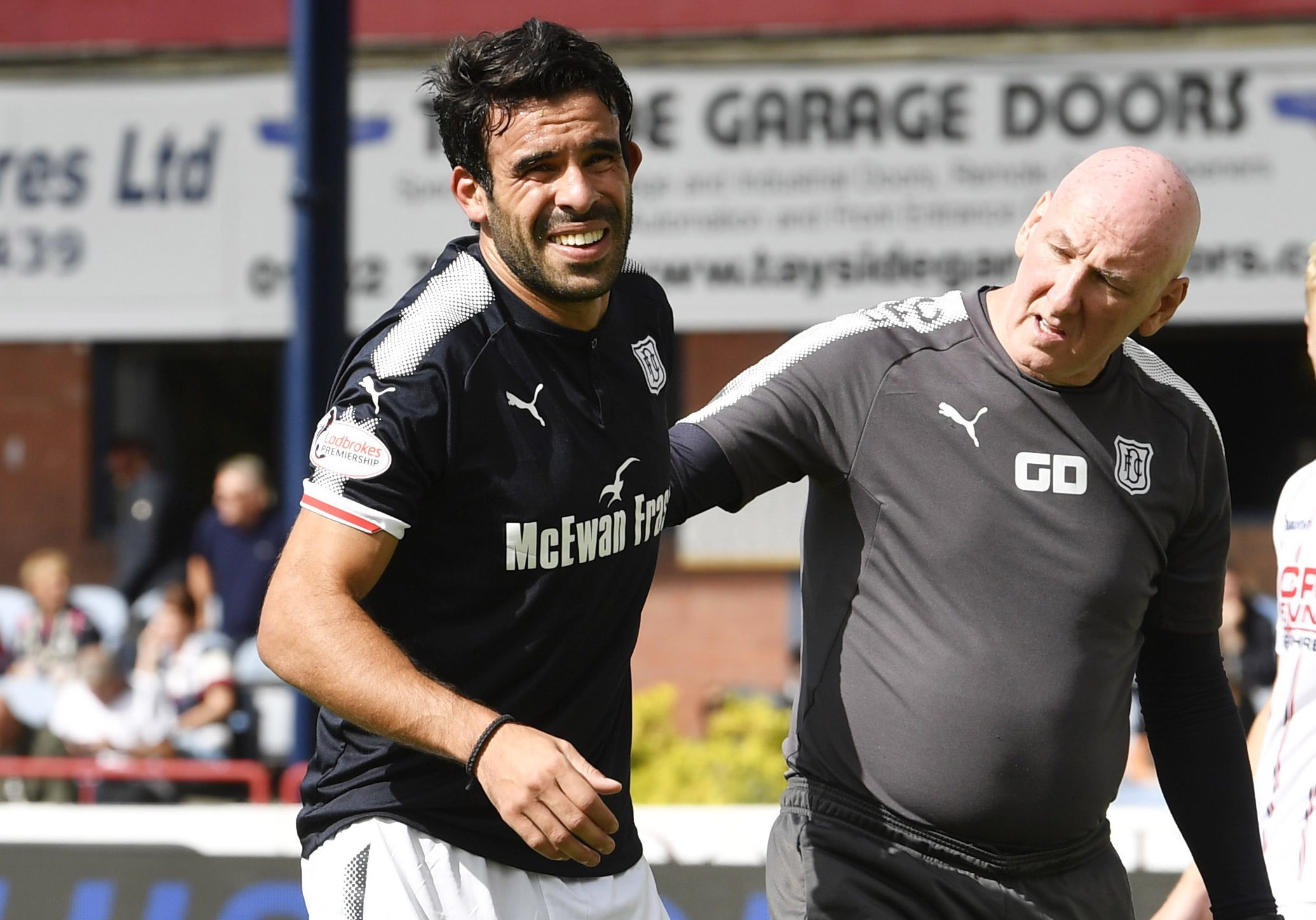Sofien Moussa's injury has given Neil McCann an early season problem to solve.