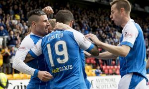 Michael O'Halloran could be the main man for St Johnstone at Celtic