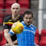Being the last Scottish team to beat Celtic won't help St Johnstone now, says Paul Paton