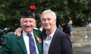 Family pride as Jim McGregor serves as Chieftain at hugely successful Crieff Highland Gathering