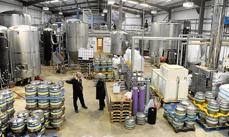 Innis & Gunn bought Perths Inveralmond Brewery last year