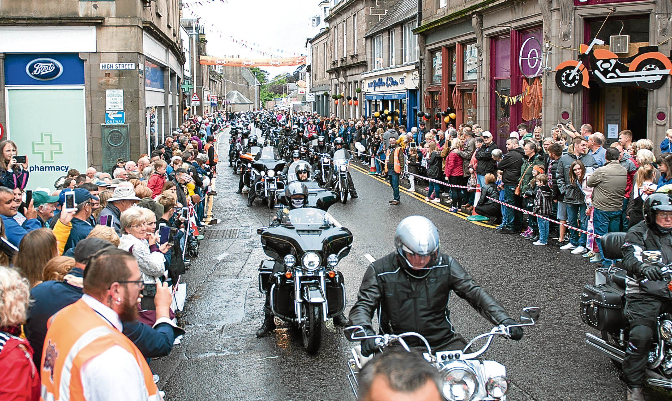 The Thunder Run through Brechin is a highlight of the festival