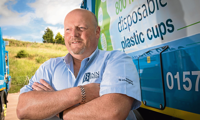 Binn Group chief executive Allan MacGregor