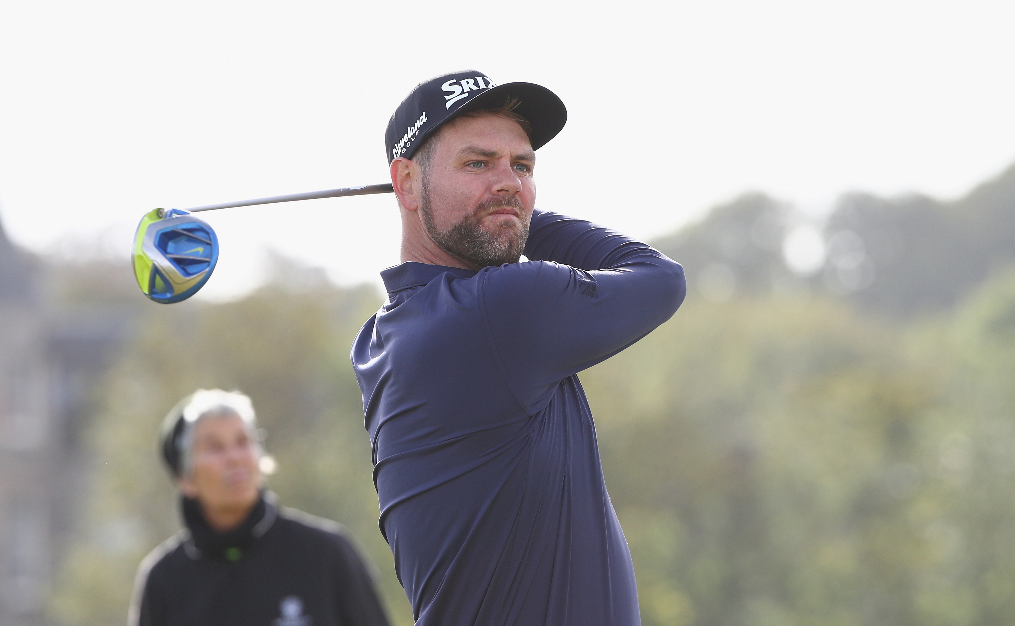 Brian McFadden during a practice round for the Alfred Dunhill Links Championship at Old Course in St Andrews last year