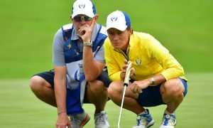 Matthew wins again but US stay in charge in Solheim