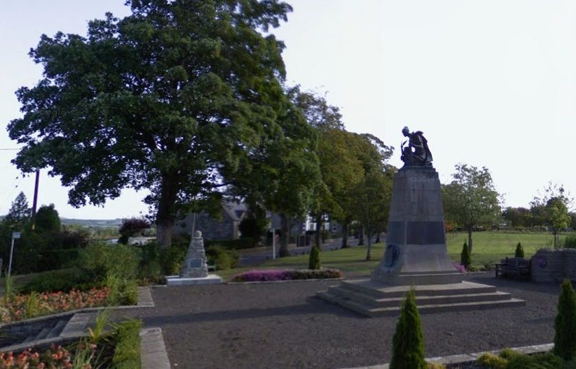 Alyth war memorial.