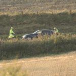 Motorcyclist dies after crash near Inverkeilor
