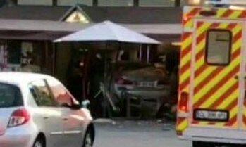 The crash at Pizza Cesena, near Paris