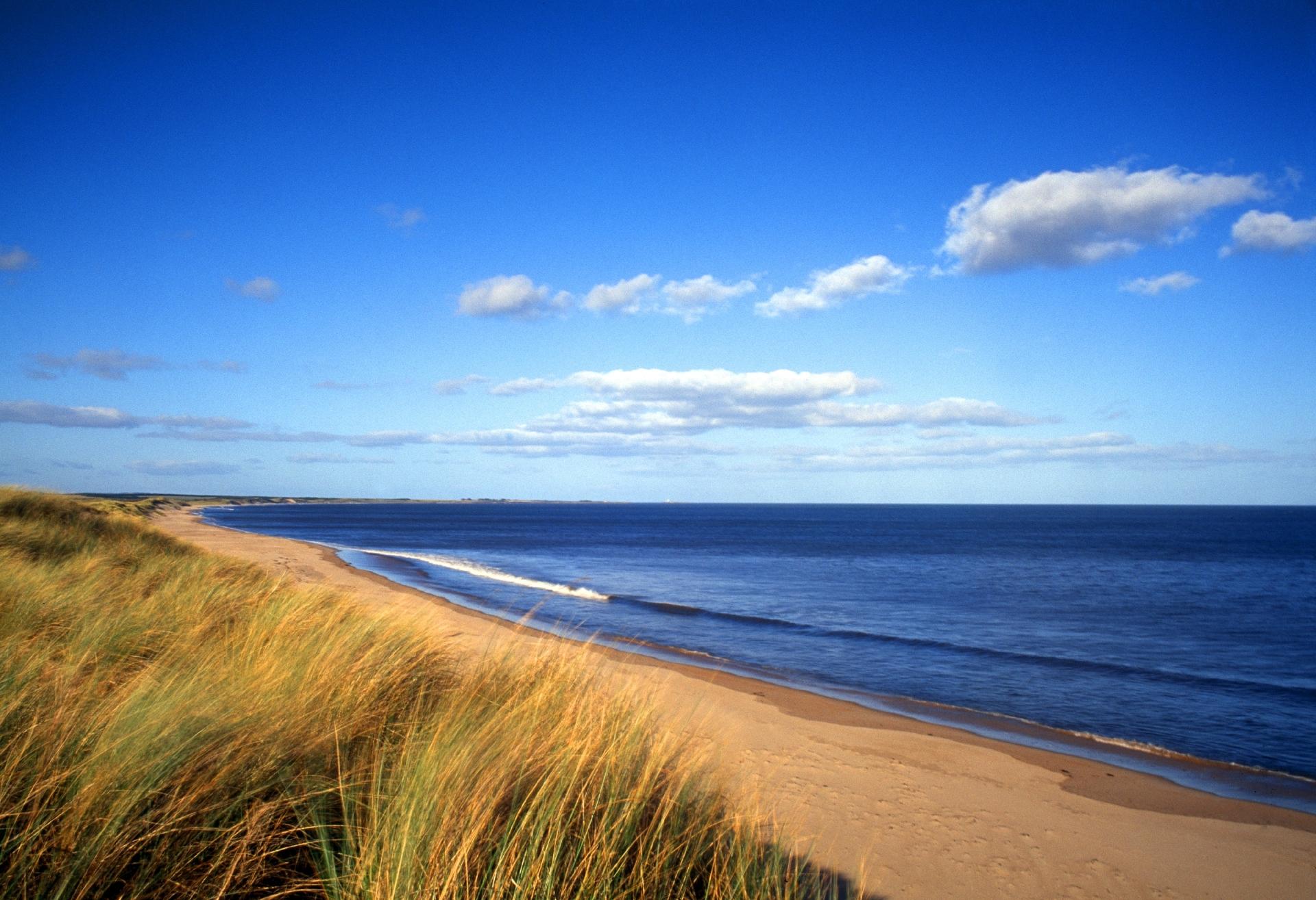 Druridge Bay, Northumberland.