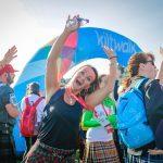 Sun shines on Kiltwalk charity extravaganza