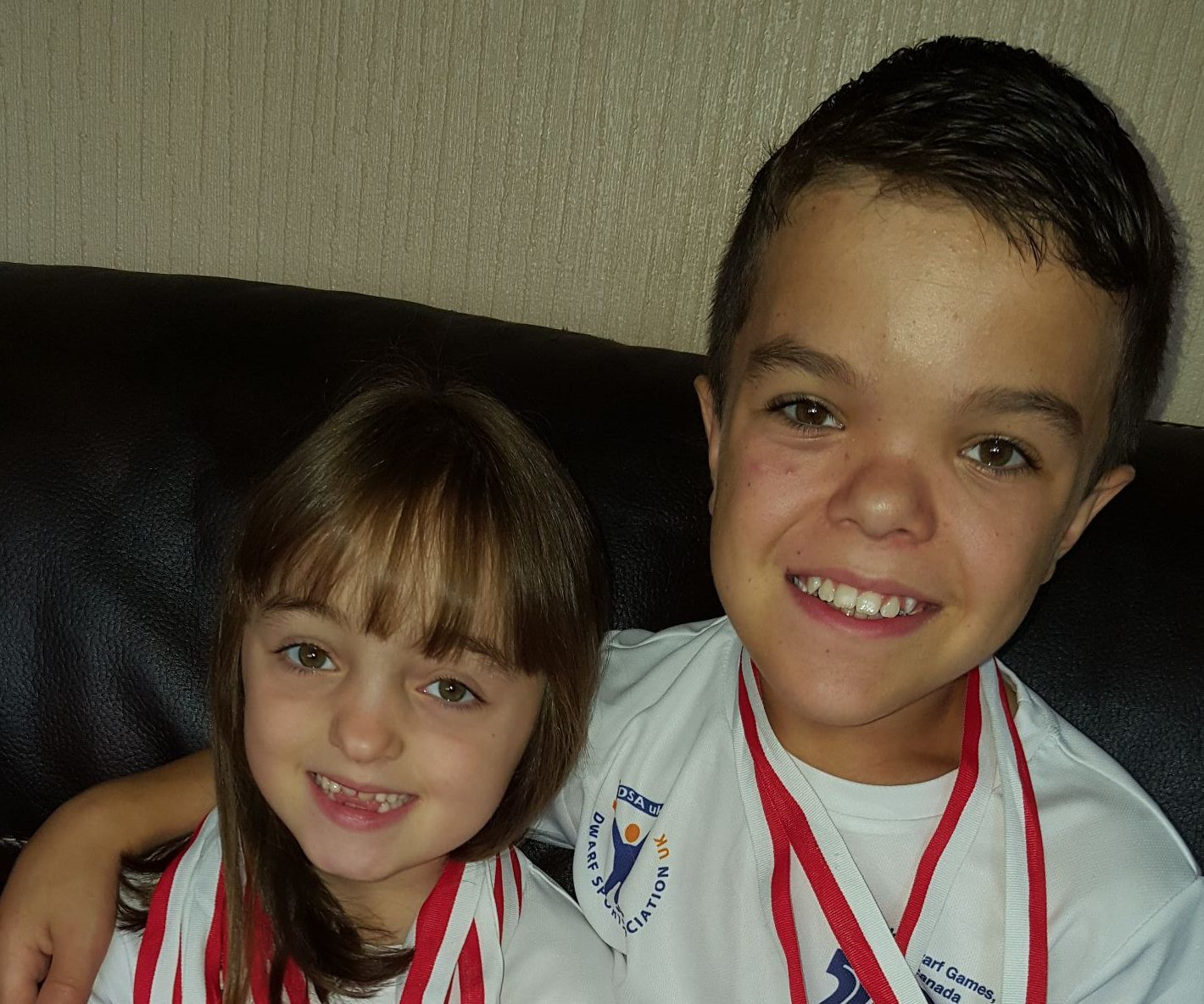 Skye and Finlay Davidson from Inverkeithing have returned with a clutch of medals from the 7th World Dwarf Games
